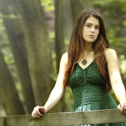 Katie C'Etta Cross Celtic Knot Necklace