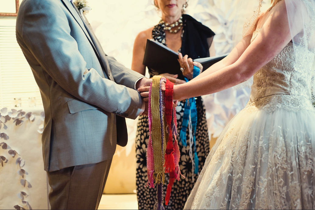 Handfasting - Photo credit: Jennifer Wernet Photography